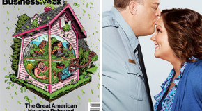 """Media Watchers Latest Round Up: Bloomberg Businessweek's Cover, CBS' primetime """"Mike & Molly"""" on Feb. 25"""