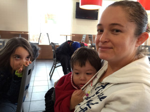 Claudia Felix and her family have gone in and out of poverty over the years.