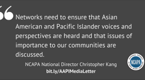 Twenty-three Asian American Groups Issue Open Letter to MSNBC, CNN and FOX Over Lack of Asian American Voices