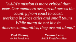 A Message from AAJA's President & President-Elect