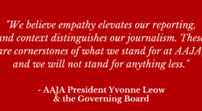 AAJA Governing Board Responds to Trump's Executive Order on Immigration